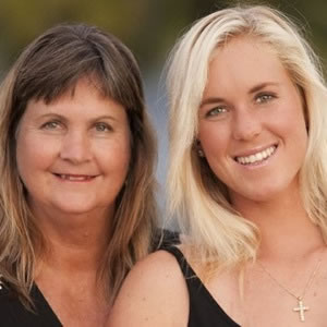 Bethany and Cheri Hamilton