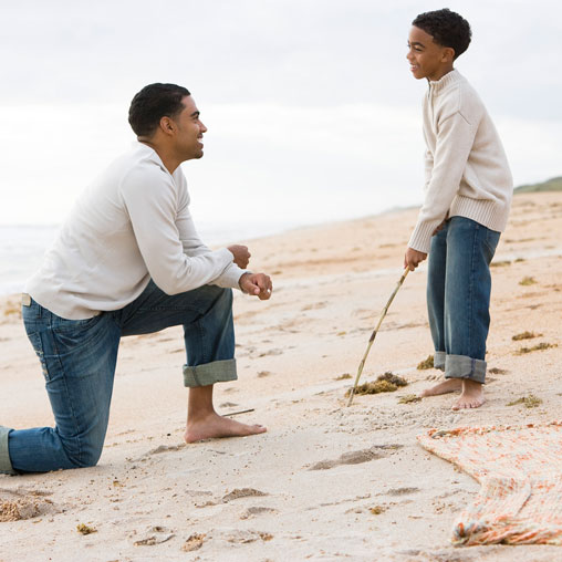 Careful Conversations to Share With Your Son